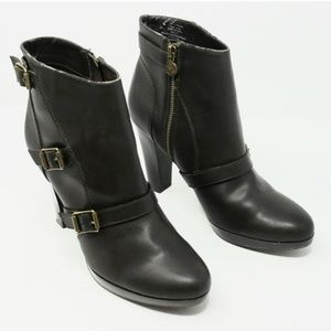 Simply Vera Vera Wang Brown Ankle Boots Sz 8.5